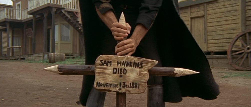 Ein Kreuz für Sam Hawkins, 13.11.1881