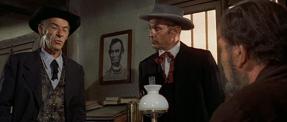 Lincoln ist zwar schon seit 16 Jahren tot. In der Amtsstube des Sheriffs von Dirty City hängt sein Portrait allerdings noch immer an der Wand.